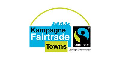 Logo der Fairtrade Towns