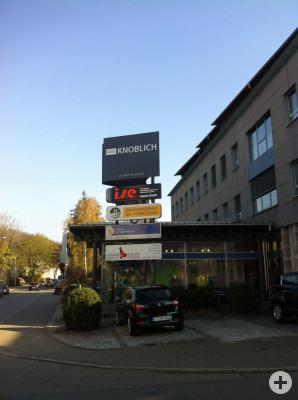 Unsere Firmenzentrale in Kirchentellinsfurt