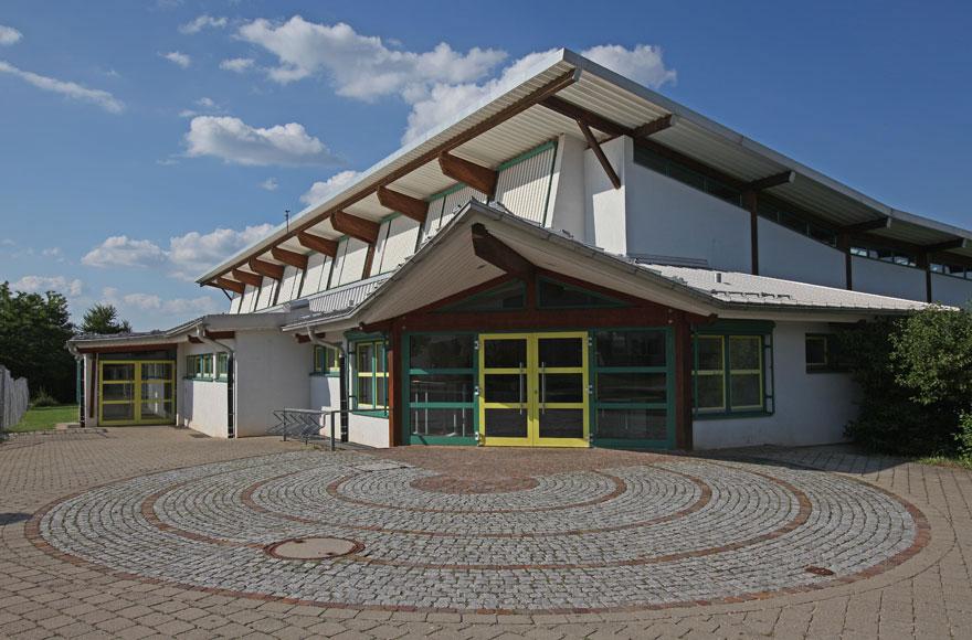 Neue Sporthalle