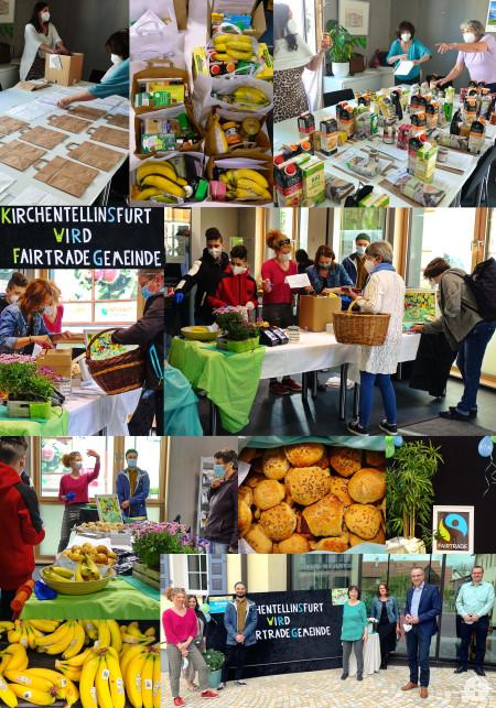 Collage FairTrade Frühstück Mai 2021
